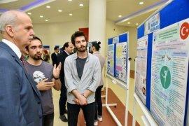 PAÜ Fizik Tedavi ve Rehabilitasyon Yüksekokulu Öğrencileri, Bilim Projeleri Yarışması'nda Üçüncü Oldu