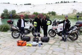MOTOR AMBULANSLAR HIZIR GİBİ