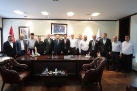TBMM Başkanı Şentop, Başkan Zolan'ı ziyaret etti.