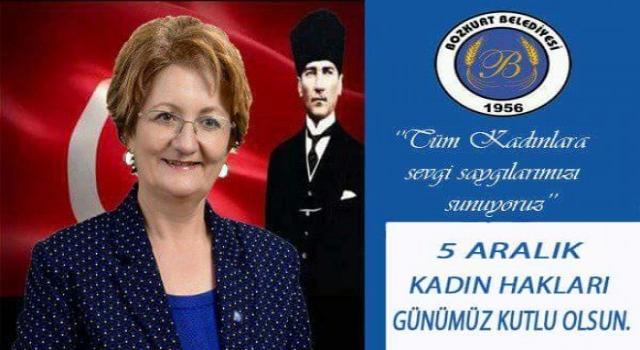 Bozkurt Belediye Başkanı Birsen Bozkurt Kadınlar, Fedakar, Cefakar, Çalışkan Ve Üreten Bireylerdir
