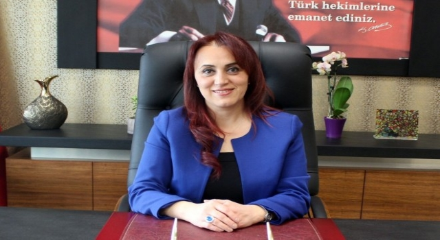 Il Sağlık Müdürü Dr. Berna Öztürk 1-7Aralık Sağlık Haftasını Kutladı