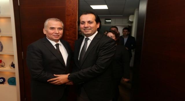 Ak Parti Sarayköy Teşkilatından Başkan Zolana Ziyaret