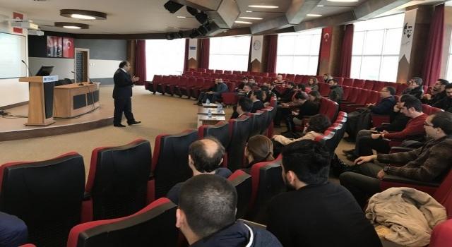 Paü Teknokentte  Teknoloji Ve Yenilik Destekleri Bilgilendirme Toplantısı Yapıldı