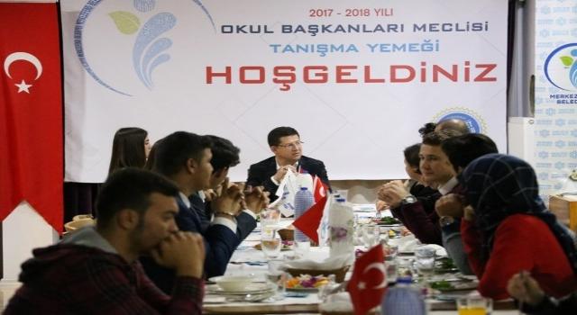 Başkan Subaşıoğlu Okul Başkanları Meclisi İle Bir Araya Geldi