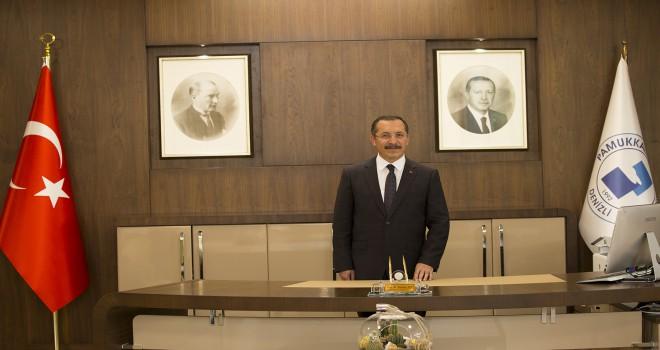 """Rektör Prof. Dr. Hüseyin Bağ'dan """"15 Temmuz"""" Mesajı"""
