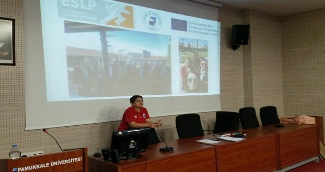 PAÜ'de Avrupa Spor Liderliği Programı (ESLP) 3. Çalıştayı Gerçekleştirildi