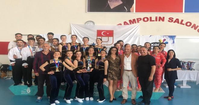 PAÜ Jimnastik Takımı Geleneği Bozmadı