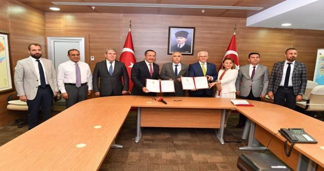 Eğitim Öğretimin Geliştirilmesi İçin İşbirliği Protokolü İmzalandı