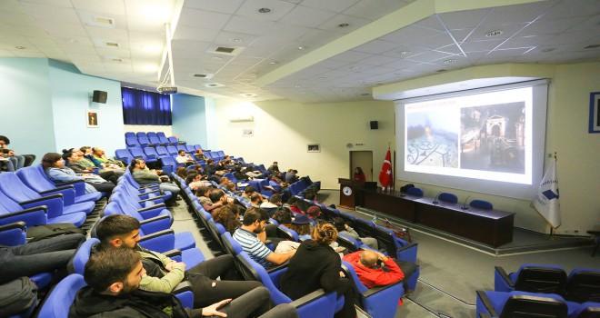 PAÜ Kültür Varlıklarını Koruma ve Onarım Topluluğundan İki Konferans