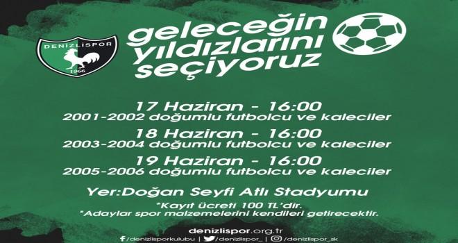 GELECEĞİN FUTBOLCULARI DENİZLİSPOR'DA YETİŞİYOR