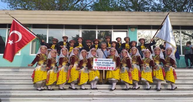 PAÜ Halk Oyunları Topluluğu Moldova'da Hıdırellez Kutlamalarına Katıldı
