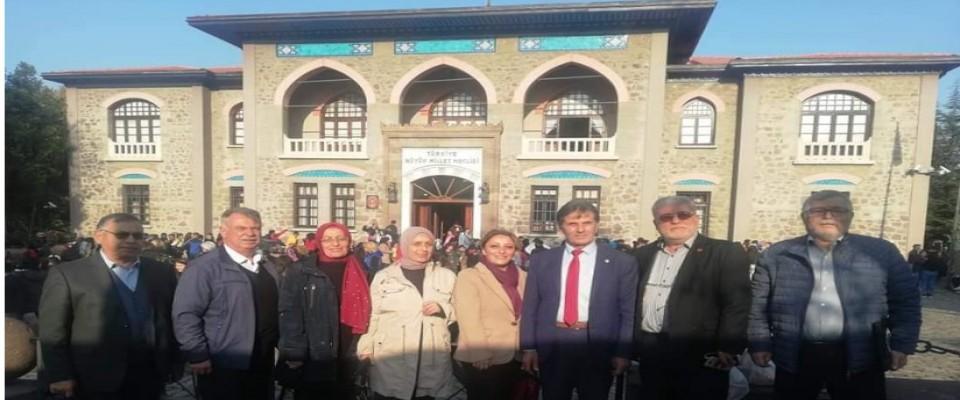 Ankaraya taşınan ABYB, ilk MKYK toplantısını yaptı.