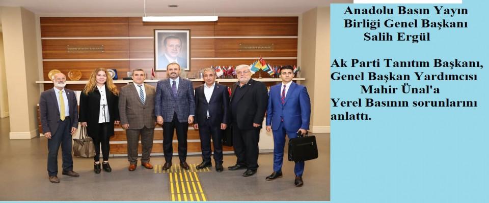 ABYB Genel Başkanı Salih Ergül ve yönetimi ziyaretlerine devam ediyor.