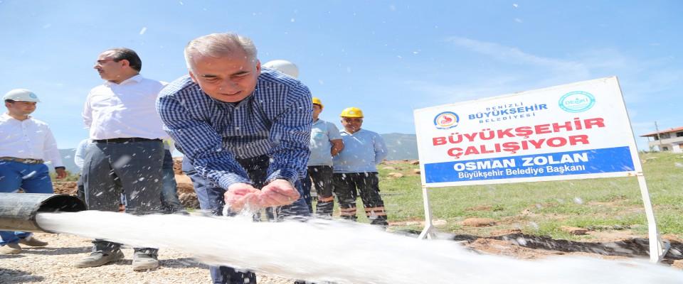 Büyükşehir DESKİ, 4 mahallenin daha su sıkıntısını çözdü