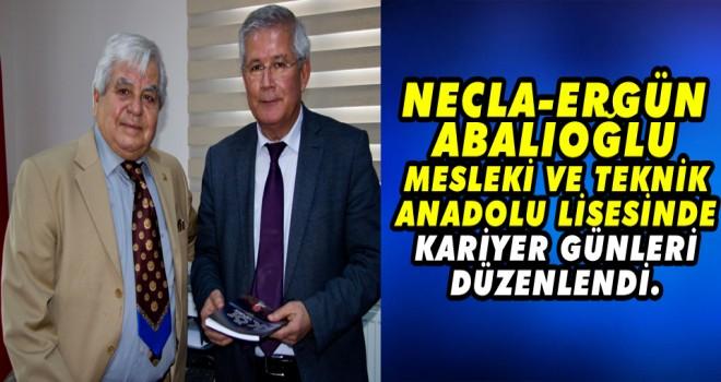 Necla-Ergun Abalioglu Mesleki ve Teknik Anadolu Lisesinde kariyer gunleri duzenlendi.