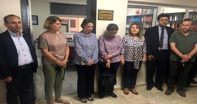 Vefa Günü: Dr. Kemal Daşçıoğlu'nun Adı Toplantı Salonuna Verildi