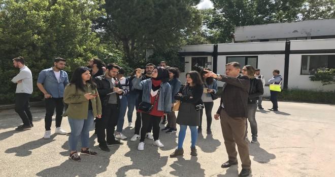 PAÜ Mimarlık Bölümü Öğrencileri DEBA'yı Gezdi