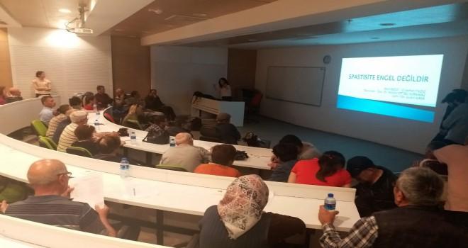 PAÜ Fizik Tedavi ve Rehabilitasyon YüksekokulundaSpastisite Bilgilendirme Paneli ve Forumu Gerçekleştirildi