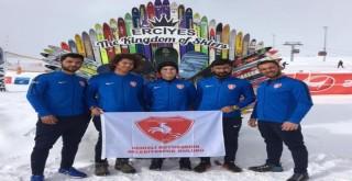 Büyükşehir Kayak Takımı Dünya Kupası'nda
